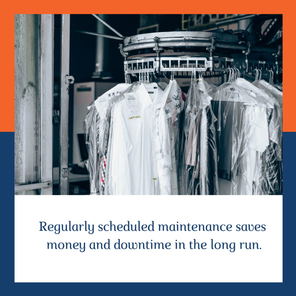 schedule regular maintenance